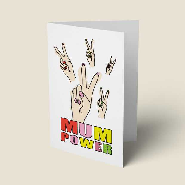 Mum Power - Mother's Day Card
