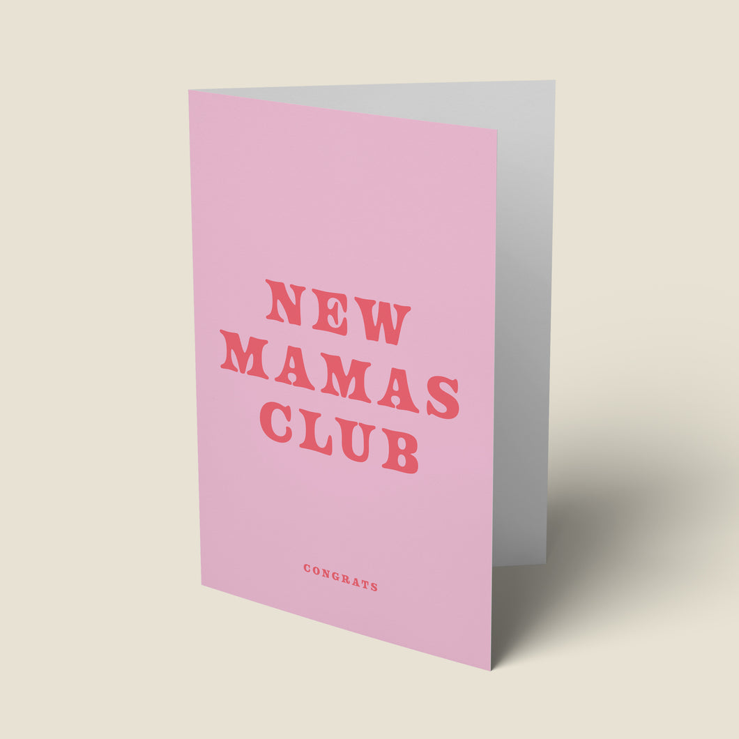 New Mamas Club Card