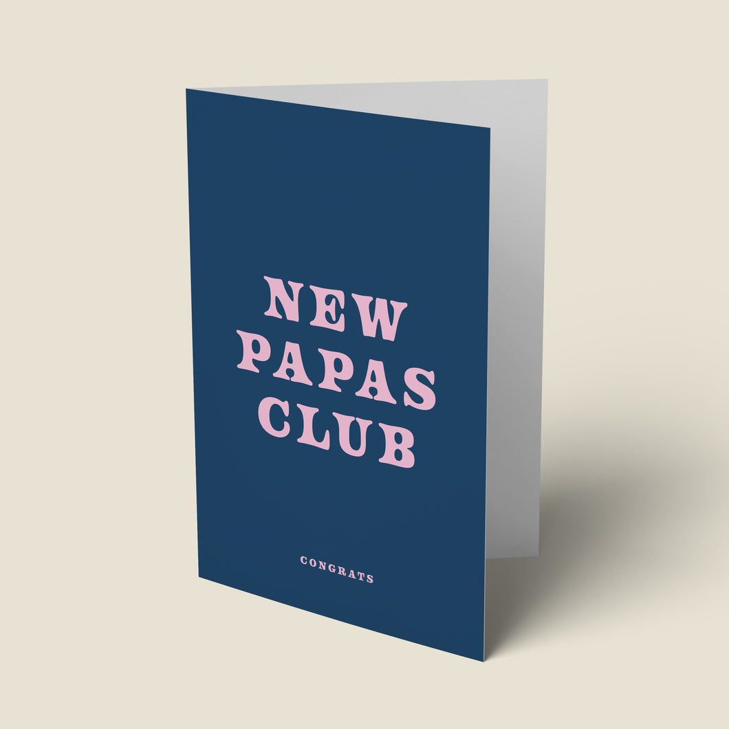 New Papas Club Card