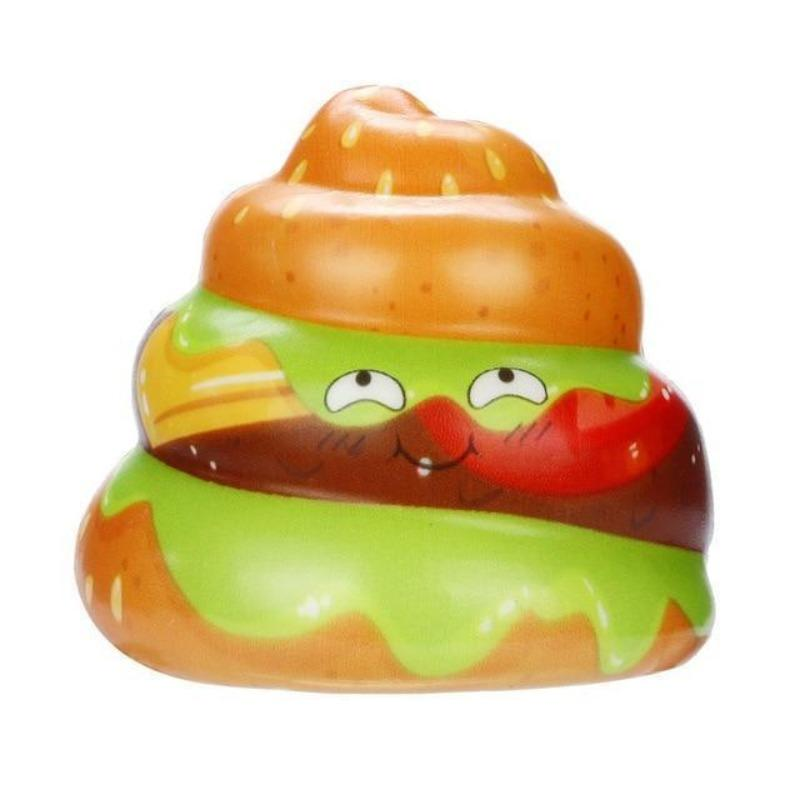 Squishy Caca<br> Burger