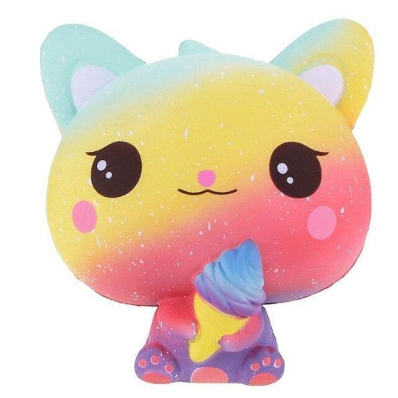 Squishy Chat<br> Multicolore