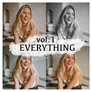 LR Mobile Preset - Vol. 1 EVERYTHING