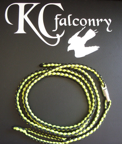Braided Leash with Extender and Swivel