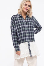 Load image into Gallery viewer, Plaid Ruffle Tunic