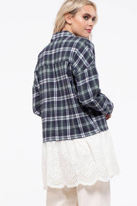 Emily Plaid Tunic