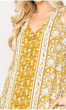 Load image into Gallery viewer, Cesily Boho Maxi Dress Golden Yellow