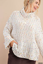 Load image into Gallery viewer, Confetti Sweater Ivory