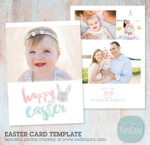 photography templates spring easter car template by Paper Lark Designs