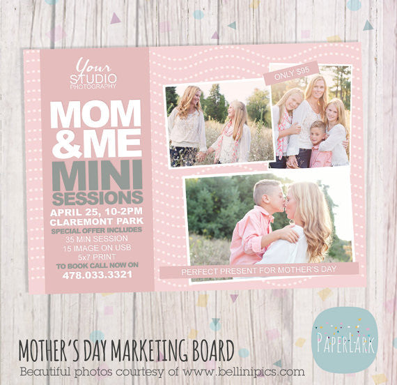 Mother's Day Marketing Board Bundle IM016