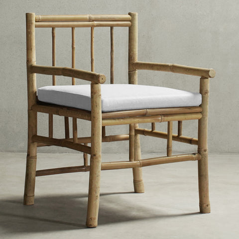 KUSEN-BAMBOO DINING CHAIR -01-Natural