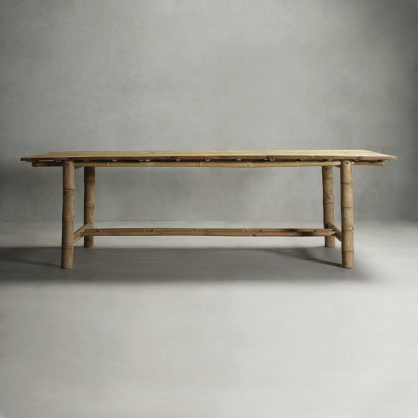 KUSEN-BAMBOO DINING TABLE-01