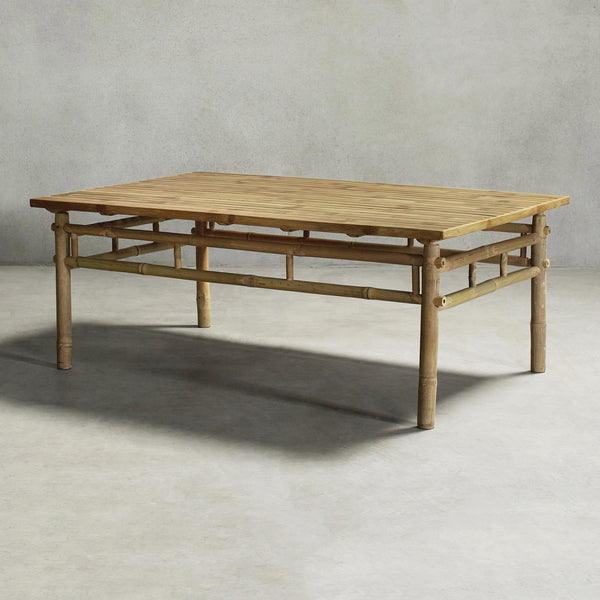KUSEN-BAMBOO RECTANGULAR COFFEE TABLE - REC-01