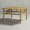KUSEN-BAMBOO COFFEE TABLE SQUARE SQR-01
