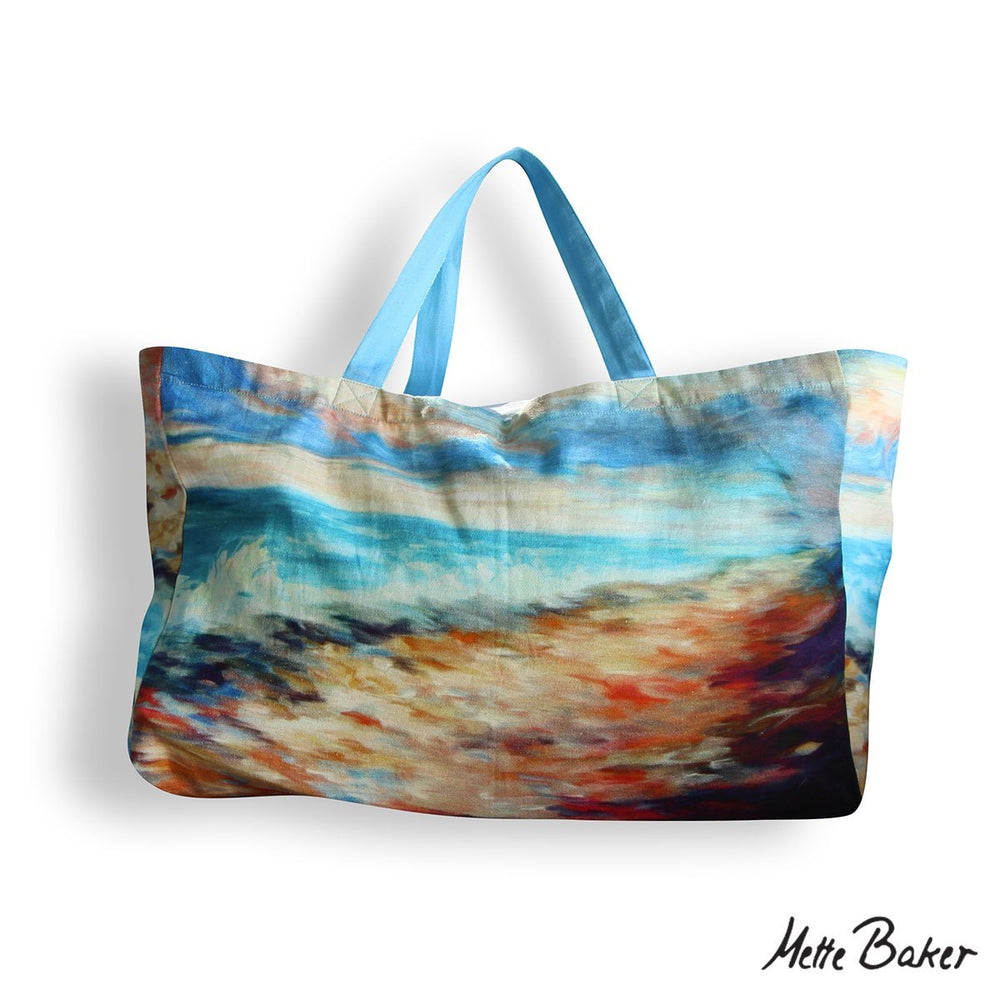Beach Bag - Beach pattern