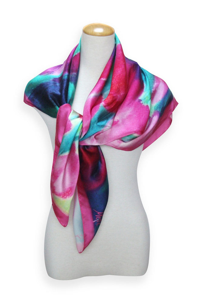Silk Scarf - Square