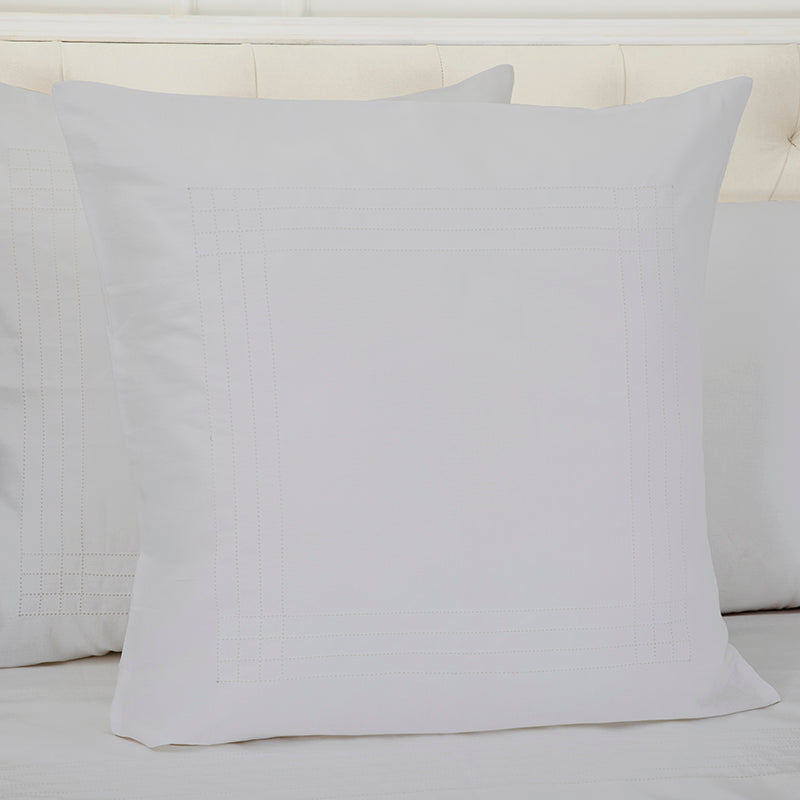Sateen Grafton Glacier Grey Decorative Pillowcase