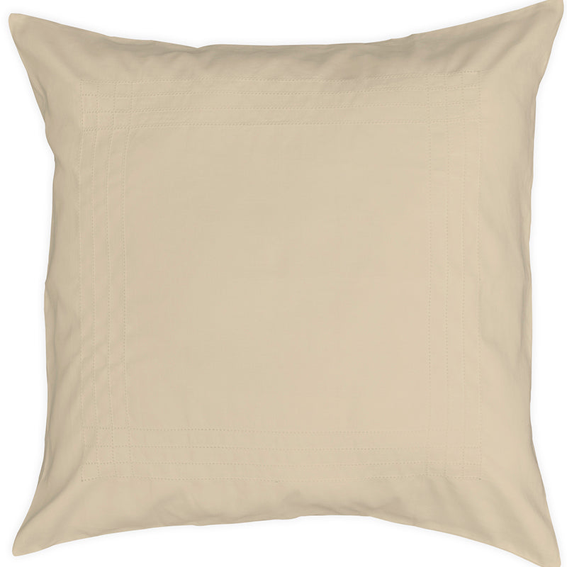 Sateen Grafton Taupe Decorative Pillowcase
