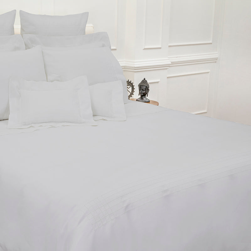 Sateen Grafton Glacier Grey Duvet Cover