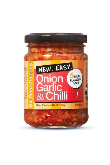 The Food Company Onion, Garlic & Chilli 240 G