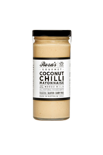 Roza's Gourmet Coconut Chilli Mayonnaise 240 G