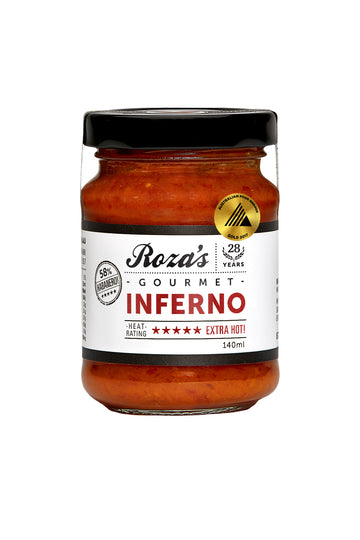 Roza's Gourmet Inferno 140 G