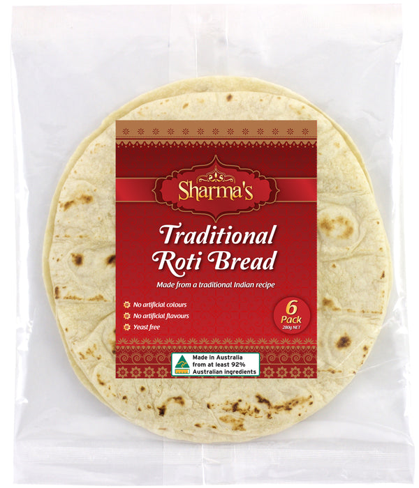 Sharma's Traditional Roti Bread 280 G