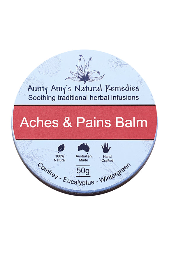 Aunty Amy's Natural Remedies Aches & Pains 50 G