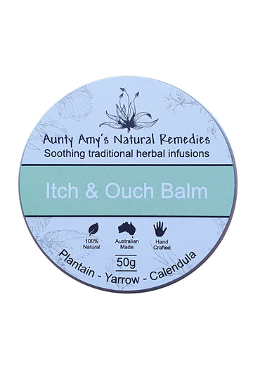 Aunty Amy's Natural Remedies Itch & Ouch Balm 50 G