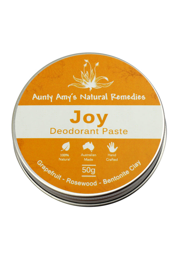 Aunty Amy's Natural Remedies Joy Deodorant Paste 50g