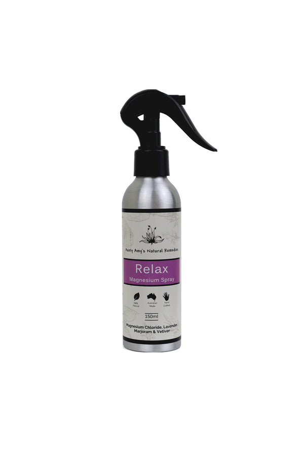 Aunty Amy's Natural Remedies Relax Magnesium Spray 150ml