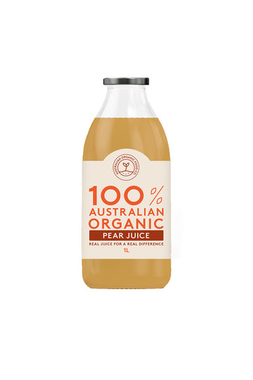 Australian Organic Food Co Pear Juice 1L