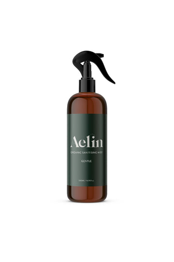 Aelin Organics Sanitising Spray–Gentle 500 ML