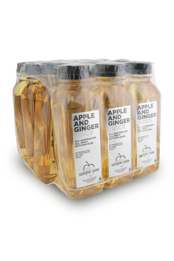 Summer Snow Apple And Ginger Juice 350 ML x12