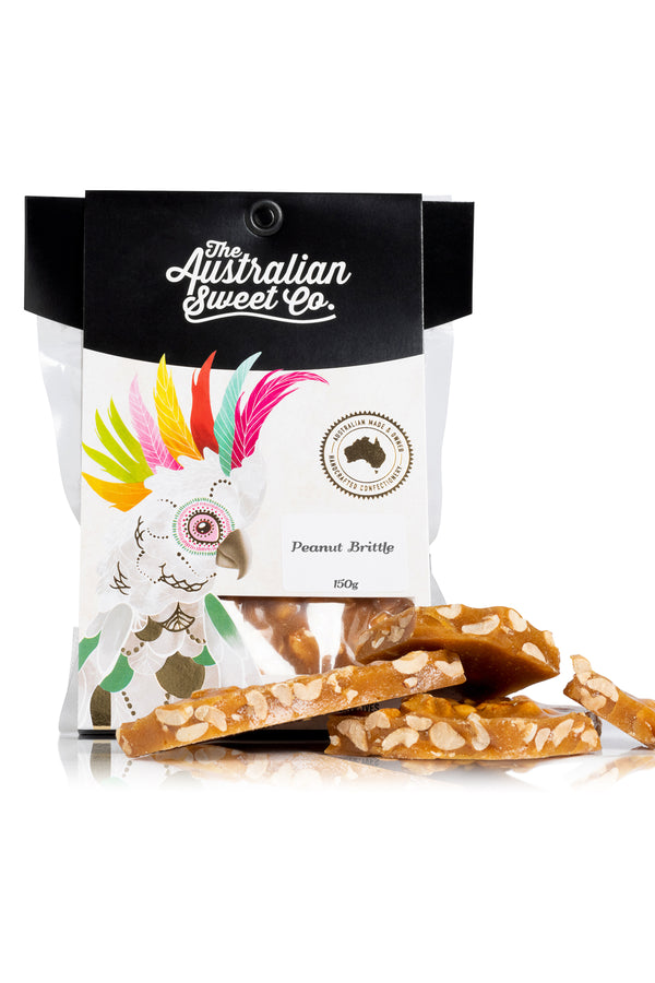 Australian Sweet Co Peanut Brittle 150 G