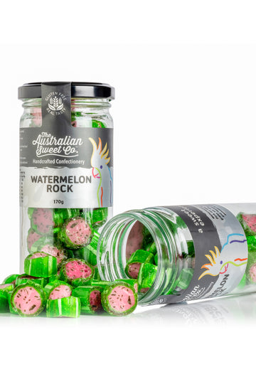 Australian Sweet Co Watermelon Rock Candy 170 G
