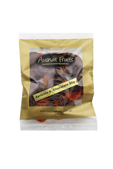 Ausnat Fruits Apricots & Chocolate 80g