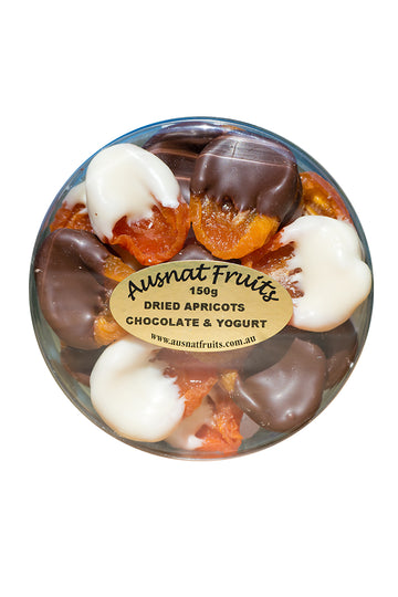 Ausnat Fruits Dried Apricots Chocolate & Yoghurt 150g