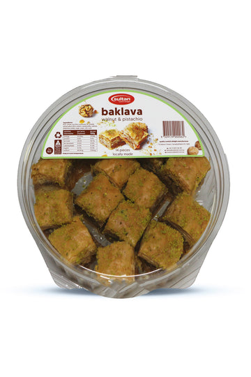Sultan Baklava 14 Pieces