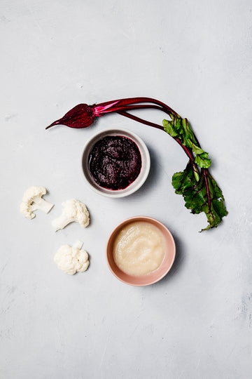 Bio Bambino Organic Cauliflower + Beetroot Puree 320 G