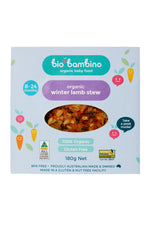 Bio Bambino Organic Winter Lamb Stew 180 G