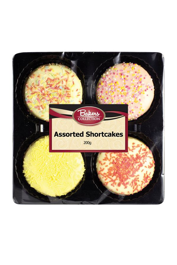 Bakers Collection Assorted Shortcakes 200 G