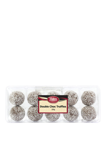 Bakers Collection Double Chocolate Truffles 200 G