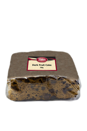 Bakers Collection Dark Fruit Cake 700 G