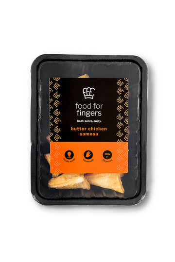 Food For Fingers Butter Chicken Samosa 10 PCS x 250 G