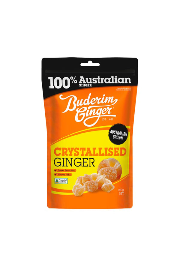 Buderim Ginger Crystallised Ginger 250 G