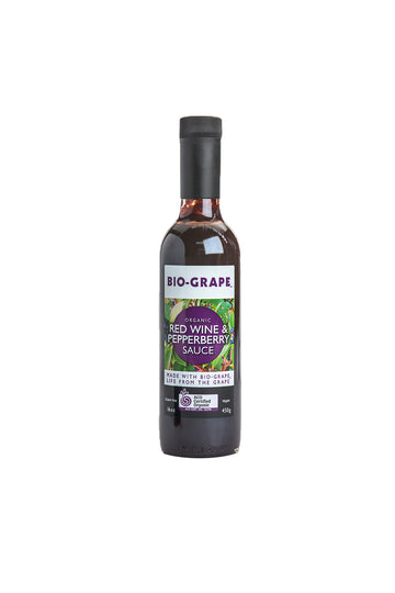 Bio Grape Organic Red Wine & Pepperberry Sauce 450 G