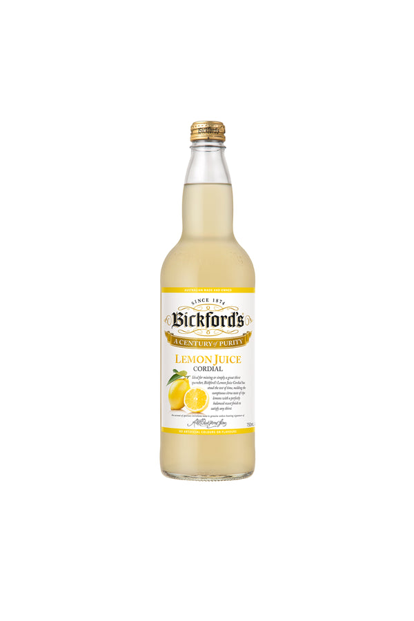 Bickford's Lemon Juice Cordial 750 ML