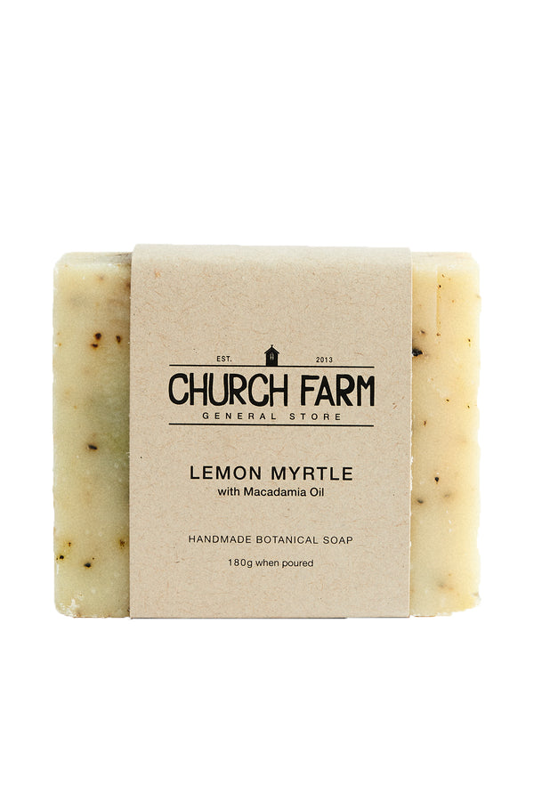 Church Farm Lemon Myrtle with Macadamia Oil 180g
