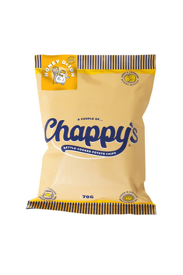 Chappy's Honey Dijon Kettle-Cooked Potato Chips 70 G