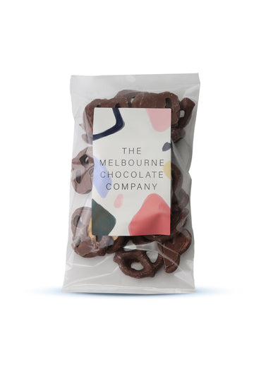 The Melbourne Chocolate Company Choc Pretzels 100 G